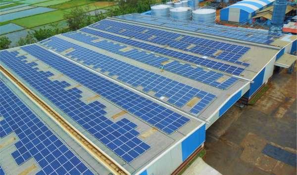 Solar installation  rooftop industrial solar (1)